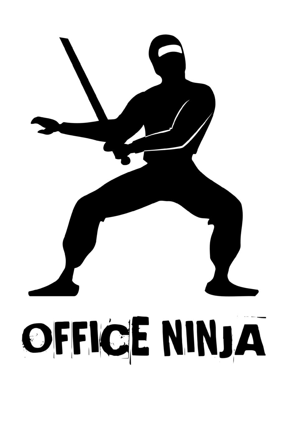 Office Ninja: Funny Coworker Notebook Small Lined Journal ...