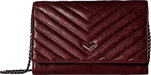 Botkier Women's Soho Quilted Wallet on a Chain Wine One Size by botkier