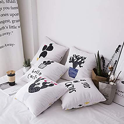 Amazon.com: H-M-STUDIO Pillow North European Forest Green ...