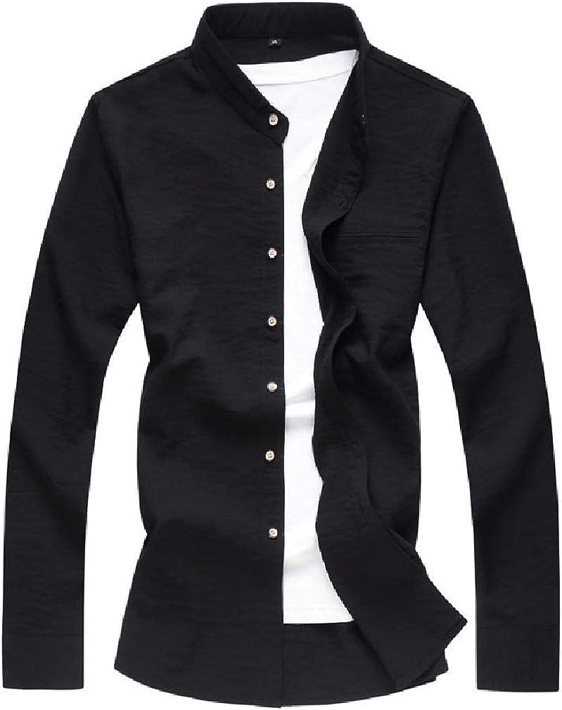XiaoShop Mens Fashion Big /& Tall Fit Western Shirt Premium Flannel Shirts