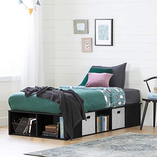 South Shore Furniture Oak Bed - 5
