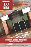 img - for The Mobile DJ MBA by Stacy Zemon (2010-05-12) book / textbook / text book