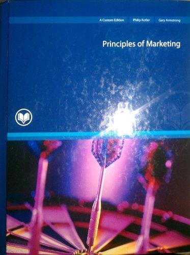 Principles of Marketing -- Twelfth 12th Edition