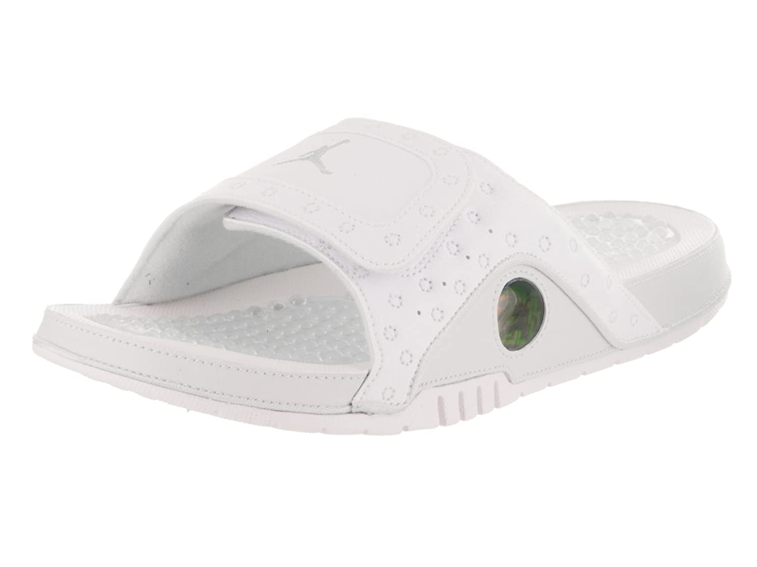 d6cc48a0142605 Nike Mens Hydro XIII Retro White Metallic Silver Synthetic Sandals 9 UK   Amazon.co.uk  Shoes   Bags
