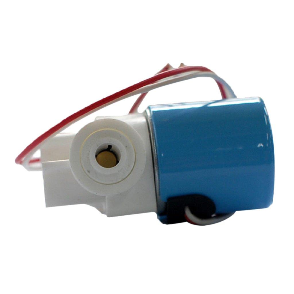 """1//4/"""" Plastic Electric Solenoid Valve Magnetic Water Dispenser Flow Open// Off"""