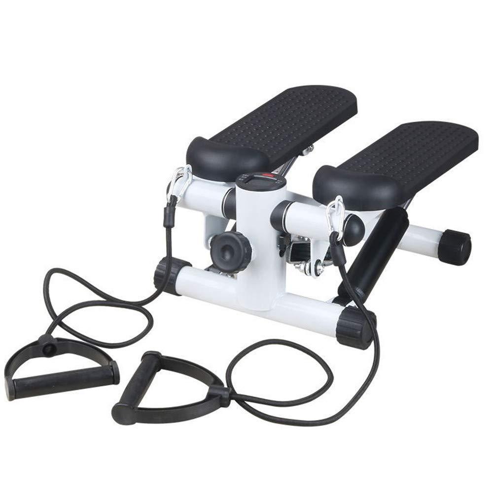AUMING Mini-Stepper Body Stepper mit Widerstandsschnüren schwarzer Mini-Stepper