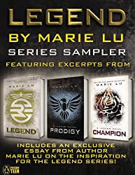 Legend Series sampler: featuring excerpts from Legend and Prodigy