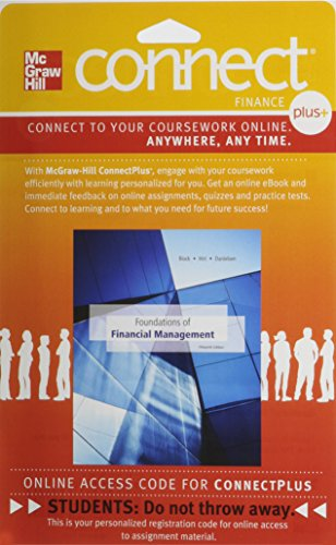 Connect 1-Semester Access Card for Foundations of Financial Management