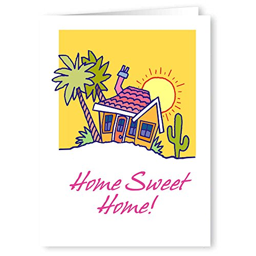 Personalized Home Sweet Home New Address Card Pack - 24 Custom Moving Card Announcements (Personalized Moving Announcement)