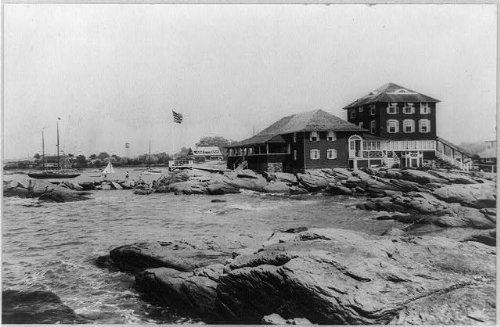 Guilford Collection (Photo: Sachem's Head Yacht Club,Sachem's Head,waterfronts,Guilford,Connecticut,CT,1900)