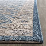 Safavieh Sofia Collection SOF378C Vintage Blue and