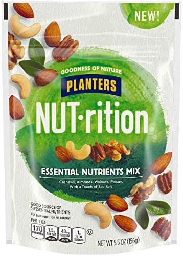 Nuts & Seeds: Planters Nut-rition Essential Nutrients Mix
