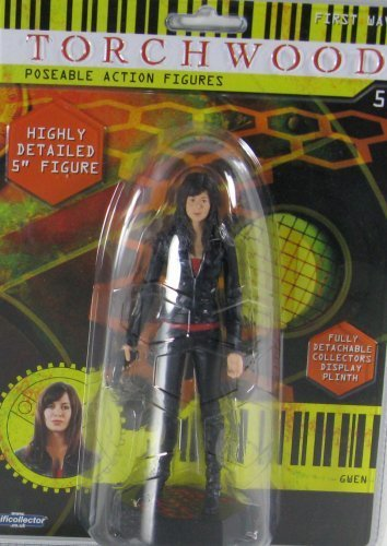 Torchwood Gwen 5 Poseable Action Figure by Torchwood