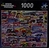White Mountain Puzzles 1000 Piece Jigsaw Puzzle Snackmania