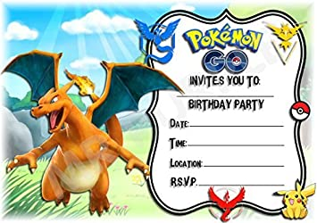 Image Unavailable Not Available For Colour Pokemon Go Birthday Party