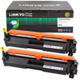 LINKYO Compatible Toner Cartridge Replacement for HP 30A CF230A (Black, 2-Pack)