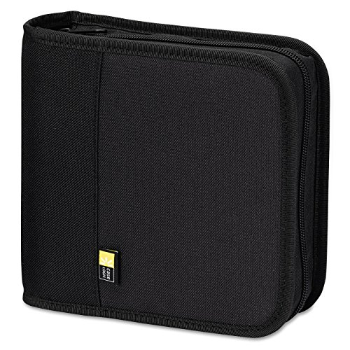 Case Logic BNB-24 24 Capacity CD/DVD Prosleeve Nylon Binder (Black) (Refill Case Photo Supply)
