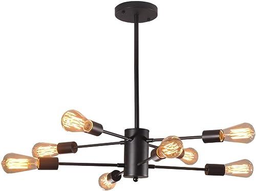 Dellemade XD00859 Sputnik Chandelier 8-Light Vintage Pendant Light