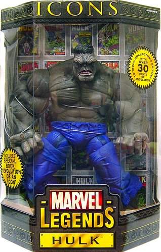 (Marvel Legends Icons Hulk Gray 12-inch Action Figure)