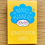 Nana's Manners Children's Conversation Cards - Ideal for the Dinner Table or Car Journeys