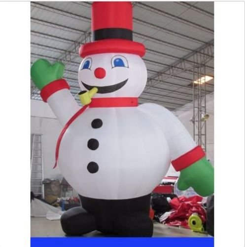 Blower For Inflatable Decorations : Kunhewuhua m inflatable santa christmas holiday