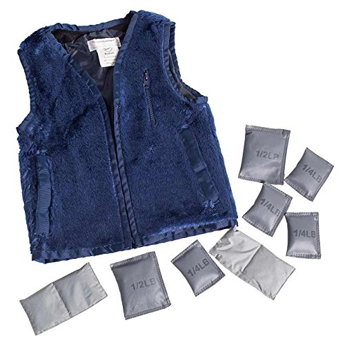 Fun and Function's Weighted Faux Fur Vest