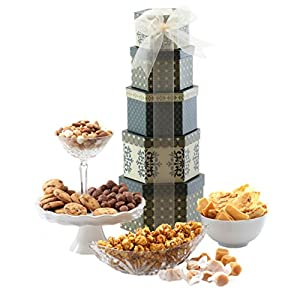 Broadway Basketeers Token of Appreciation Gift Tower