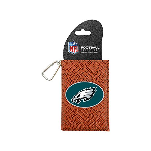 NFL Philadelphia Eagles Classic Football ID Holder, One Size, Brown