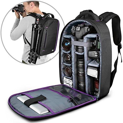 DSLR Camera and Mirrorless Backpack Bag by Altura Photo for Camera and Lens (The Wanderer Series) (Photo Backpack Slr)
