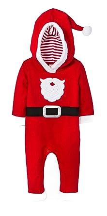 a5e284cd1492 Amazon.com  Baby Infant Santa Suit - Cat and Jack Red Santa Suit ...