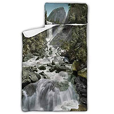 Yosemite Movable Sleeping Pad Waterfall Stream Touristic Childcare and Overnight - Original Design