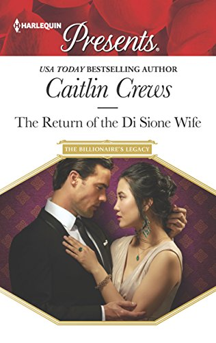 book cover of The Return Of The Di Sione Wife