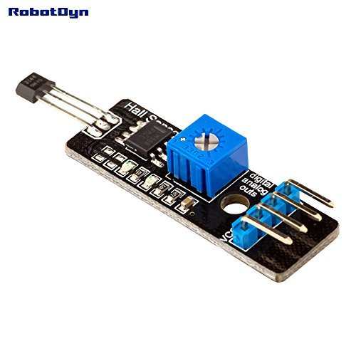 RobotDyn - Hall magnetic Sensor with analog & digital outs. Proximity magnetic ()
