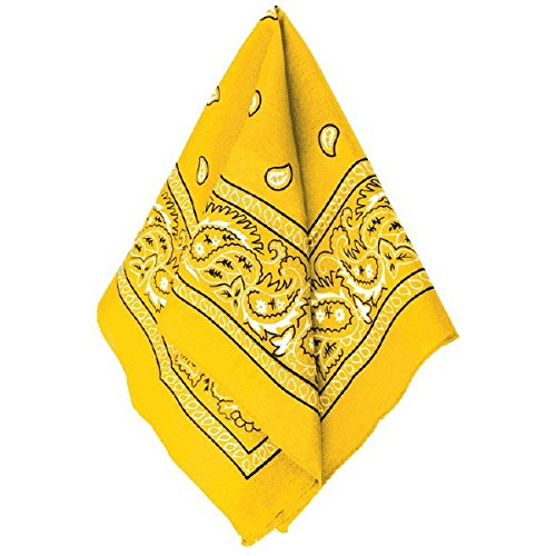 Yellow Bandanna - 1