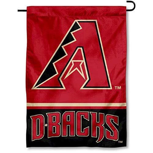 timeless design 4cc49 de6ac WinCraft Arizona Diamondbacks Double Sided Garden Flag