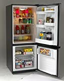 Avanti FFBM102D3S Bottom Mount Frost Free Freezer/Refrigerator, Black with Stainless Steel Doors review