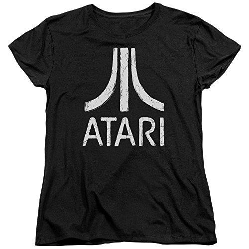 Atari Rough Logo Womens Short