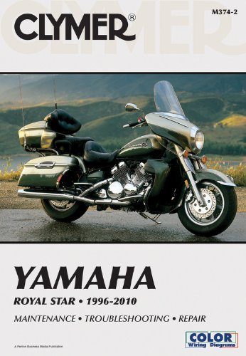 Yamaha Royal Star 1996-2010 (Clymer Manuals: Motorcycle Repair)