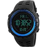 Folio Men's Digital Black Nylon Watch