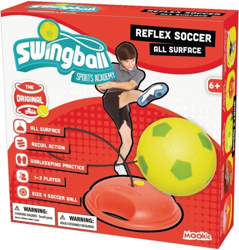 (Mookie Swingball Soccer Set by Swingball)