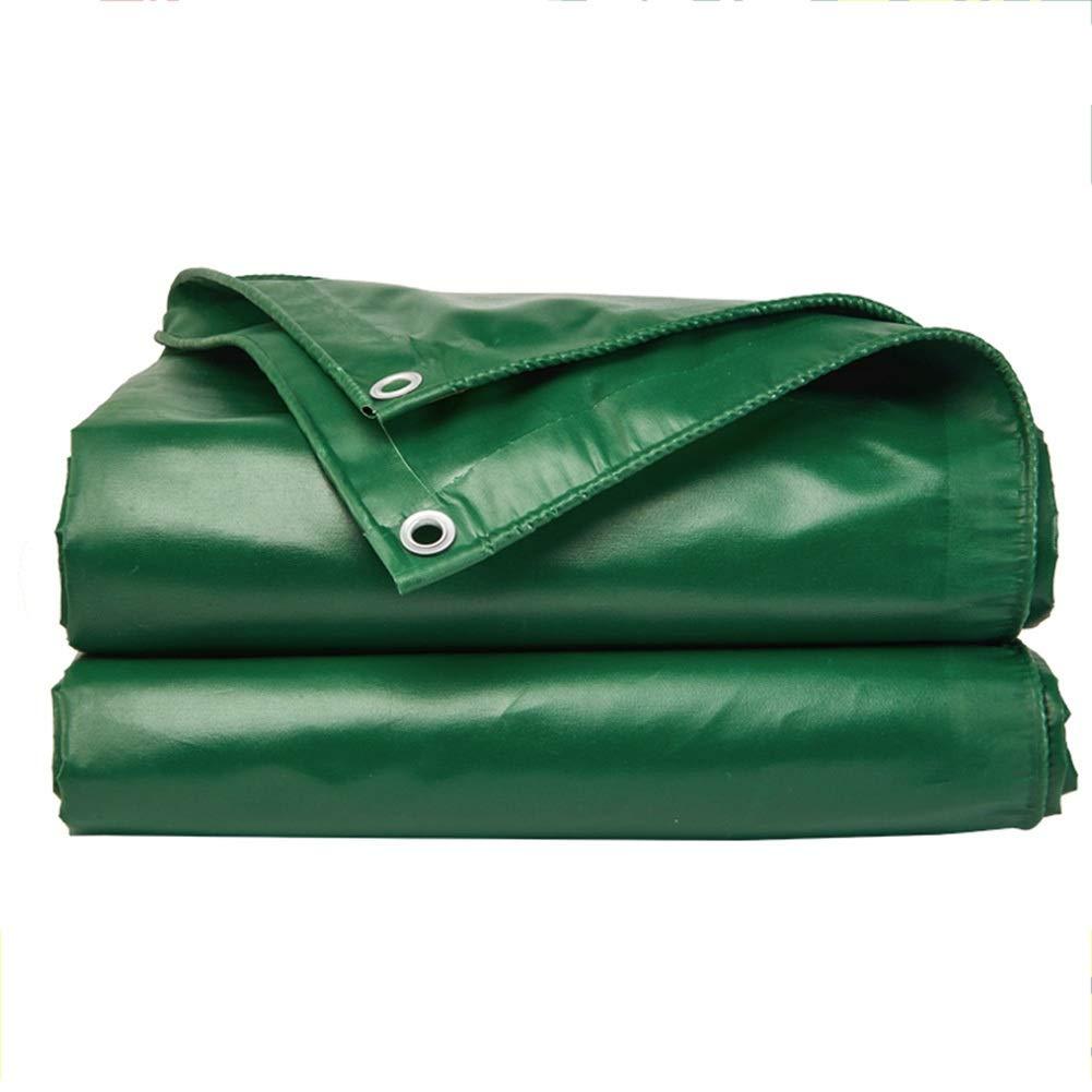 LIXIONG オーニング屋外の 厚くする ターポリン 日焼け止め 絶縁 折りやすい オックスフォード布、 13サイズ カスタマイズ可能 (色 : 緑, サイズ さいず : 2.85×2.85m) 2.85×2.85m 緑 B07Q45WY9V