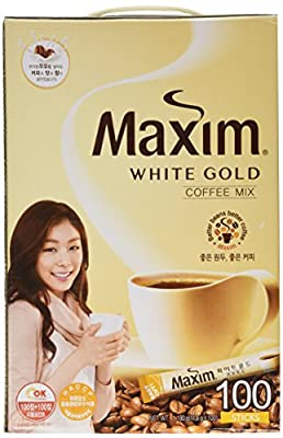 Maxim White Gold Instant Coffee - 100pks from Maxim
