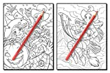 Cute Witches: An Adult Coloring Book with Magical