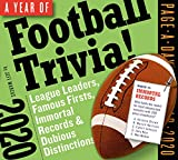 A Year of Football Trivia! Page-A-Day Calendar 2020: League Leaders, Famous Firsts, Immortal Records & Dubious Distinctions
