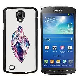 TECHCASE---Cubierta de la caja de protección para la piel dura ** Samsung Galaxy S4 Active i9295 ** --Gema Concha