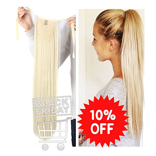 Haironline one piece tie up ponytail clip in hair extensions haironline one piece tie up ponytail clip in hair extensions hairpiece binding pony tail extension for pmusecretfo Choice Image