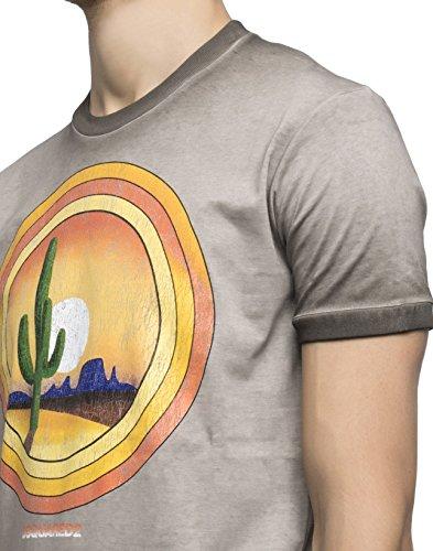 Dsquared2 Herren S74GD0208S22427816 Braun Baumwolle T-Shirt