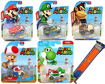 Hot Wheels 2019 Super Mario Character Cars Toad