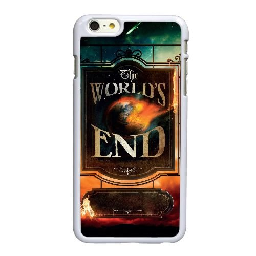 High End de U7U28 Le Monde Résolution Affiche U3P4WR coque iPhone 6 Plus de 5,5 pouces cas de couverture de téléphone portable coque blanche CZ3KYM0IO