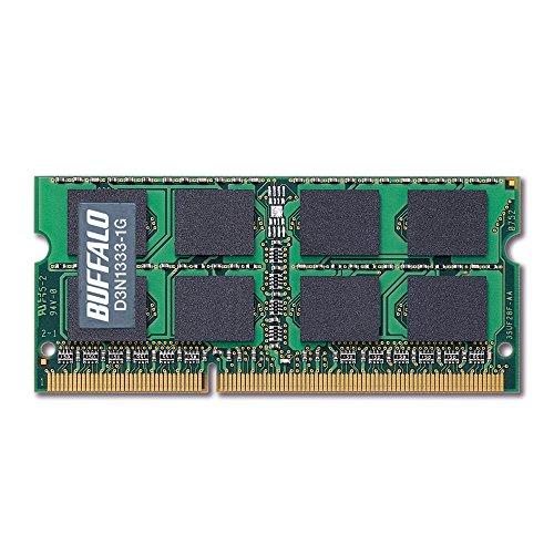 BUFFALO PC3-10600 (DDR3-1333) 対応 204Pinç
